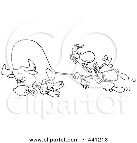 Royalty-Free (RF) Bull Rider Clipart, Illustrations ...