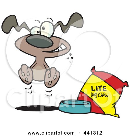 Royalty Free Dog Food Illustrations by Ron Leishman Page 1