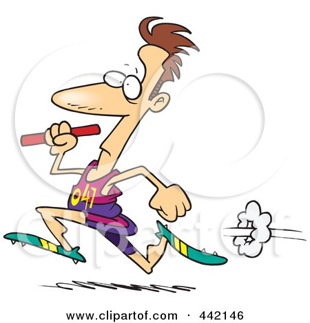 Go Back > Gallery For > Relay Race Baton Cartoon