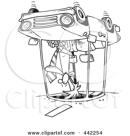 Car accident car accident outline for Car crash coloring pages