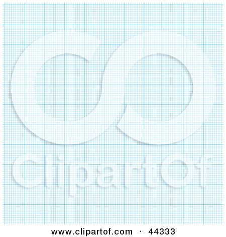 Royalty-free (RF) Clip Art Of Blue Paper Graph With Empty Squares by michaeltravers