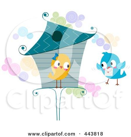 Love Bird Delivering A Letter Posters, Art Prints