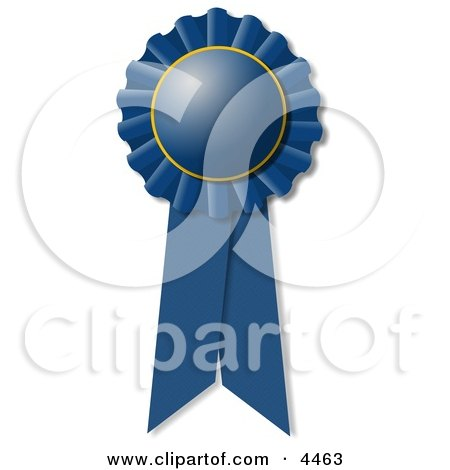 Blue Ribbon Award Clipart by djart