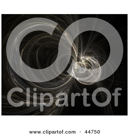 Royalty-Free (RF) Clipart Illustration of a Fractal Vortex by oboy