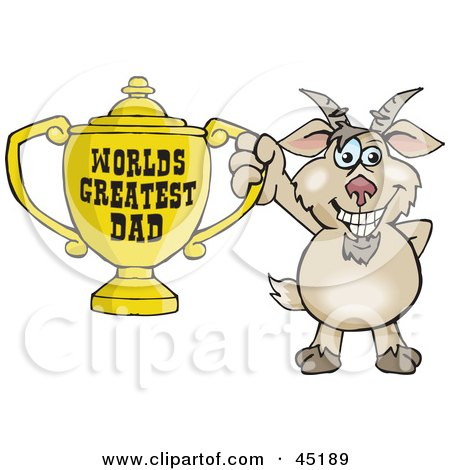Royalty-Free (RF) Clipart of Goat Cartoon Characters ...