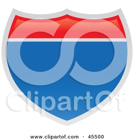 royaltyfree rf clipart of interstate signs