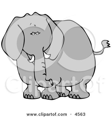 Elephant Clipart by djart