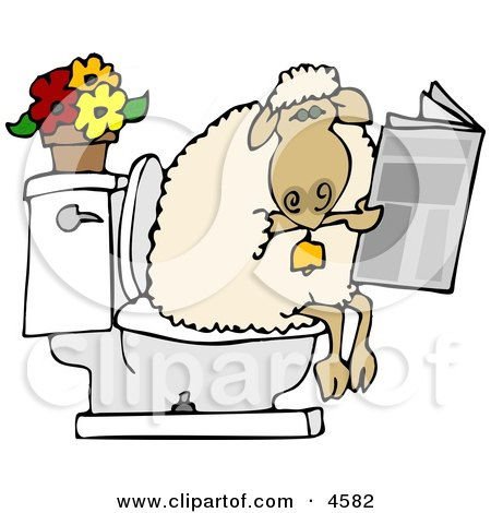 Going Potty Clipart