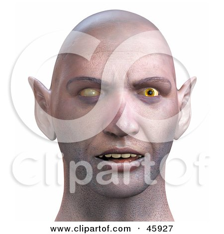 Realistic 3d Render Of A Zombie Head With Evil Eyes Posters, Art Prints