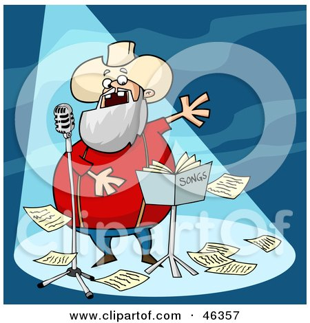 Royalty-Free (RF) Clipart Illustration of a Graying Old ...