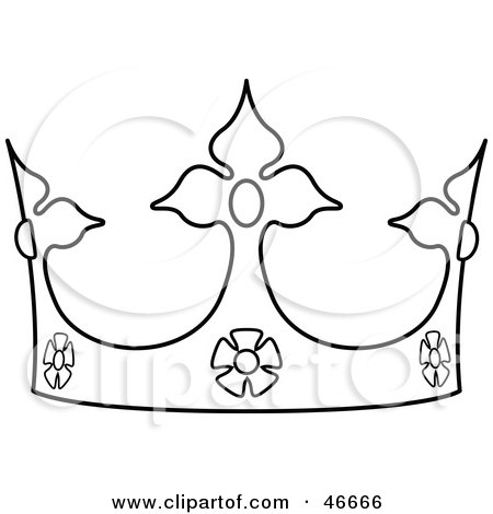 Crown Outline by dero