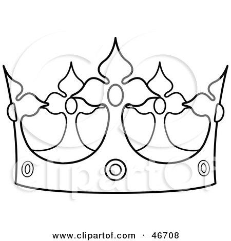 princess crown template pattern