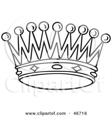 Queen Crown Black And White Clipart Black And White Crown by