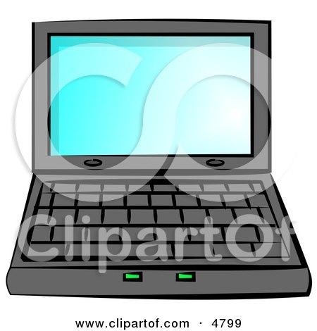 Personal Laptop Computer Clipart by djart