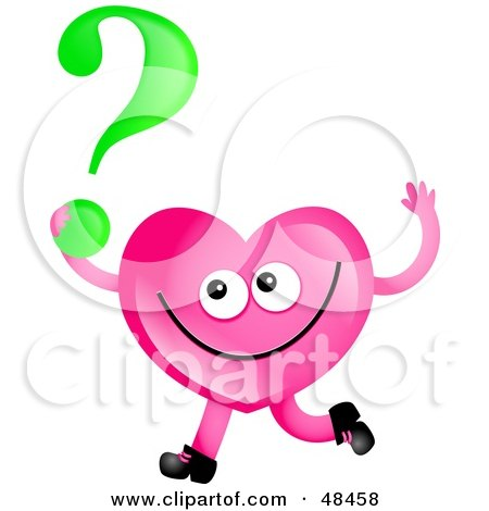 Royalty-Free (RF) Clipart Illustration of a Pink Love ...