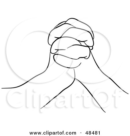 Royalty-Free (RF) Clipart of Praying Hands, Illustrations, Vector ...