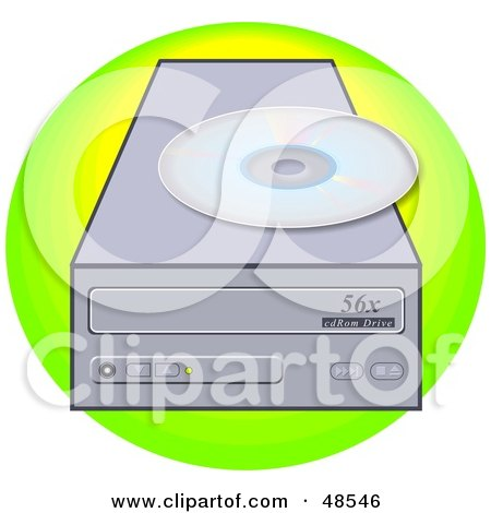Royalty-Free (RF) Cd Rom Clipart, Illustrations, Vector Graphics #2