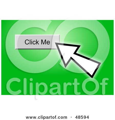 Royalty-Free (RF) Clipart Illustration of a Computer Cursor ...