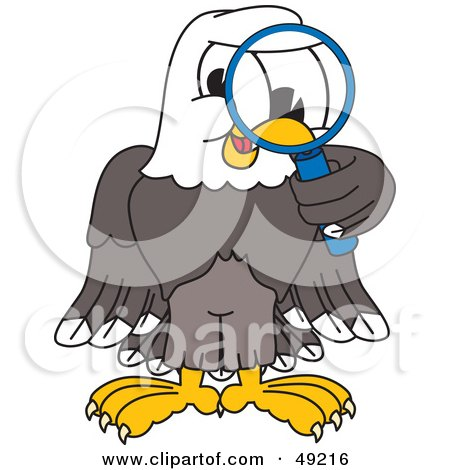 royalty free stock illustrations of eagles by toons4biz page 1 rh clipartof com Bald Eagle Eagle Reading a Book