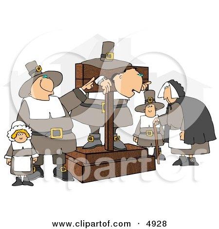 The Pilgrim Pillory Posters, Art Prints