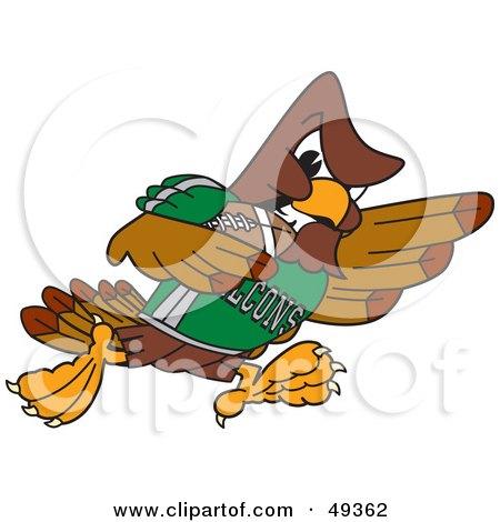 Falcon Cartoon Character