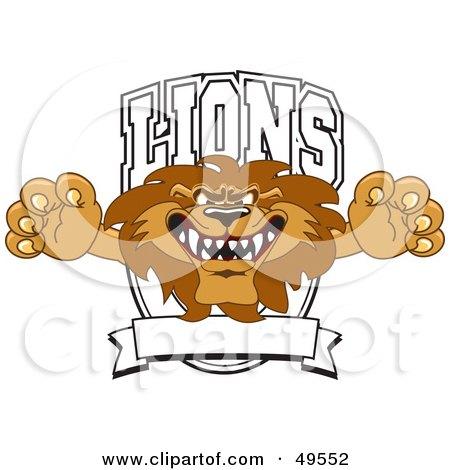 Lion Character Mascot Logo Posters, Art Prints