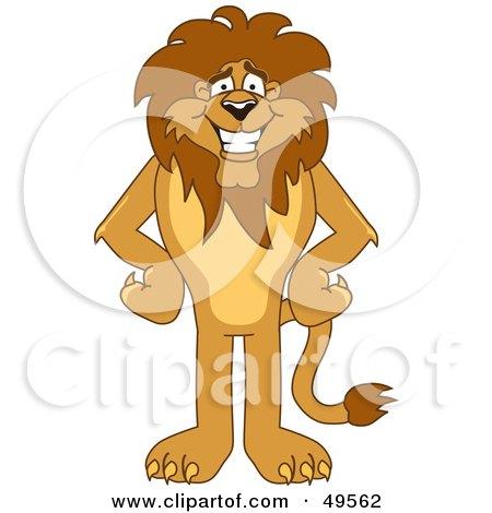 Lion Character Mascot Posters, Art Prints