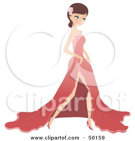 Prom Dress Clipart