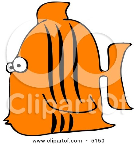 Aquarium Tigerfish Clipart by djart