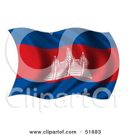 cambodia flag tattoo