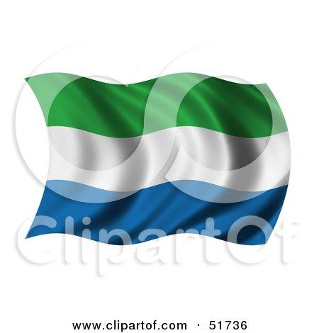 Royalty-Free (RF) Sierra Leone Flag Clipart, Illustrations, Vector ...