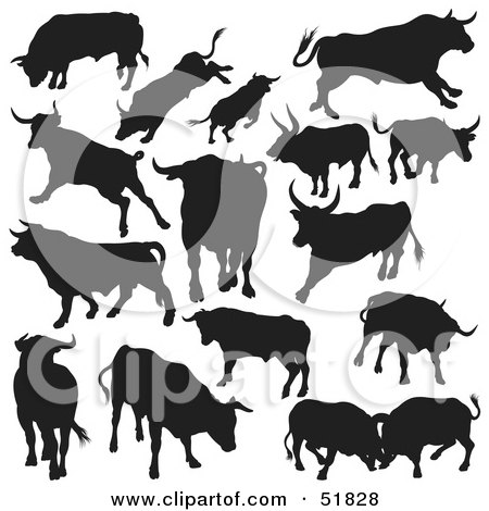 Clipart Outlined Cow Wearing Headphones - Royalty Free ...