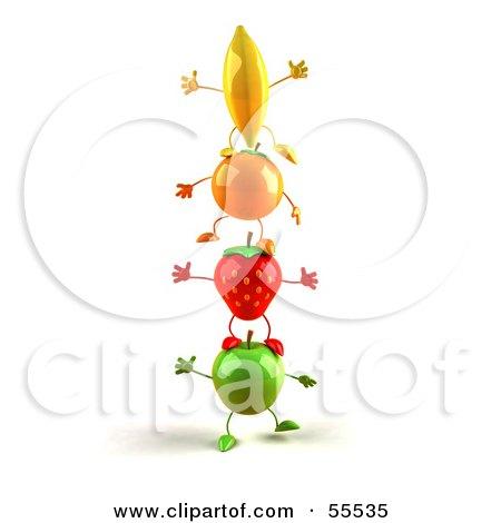 Painter Strawberry 3D