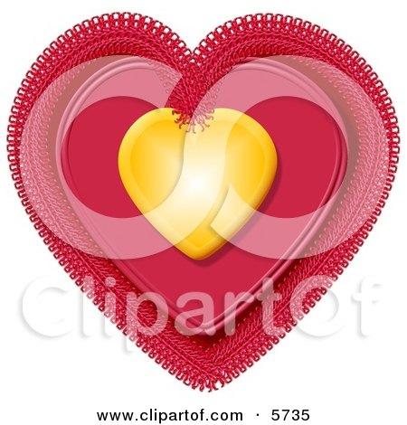 Valentine Heart Clipart Illustration by djart