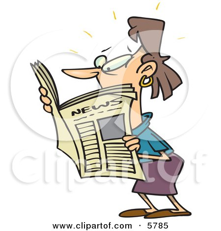 El juego de las imagenes-http://images.clipartof.com/small/5785-Brunette-Woman-Reading-A-Newspaper-Clipart-Illustration.jpg