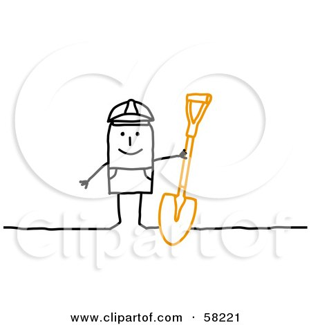 Royalty Free Rf Digging Clipart Illustrations Vector