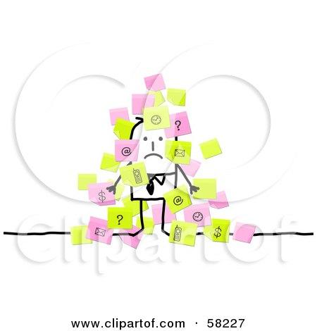 Overwhelmed Person Clip Art Free