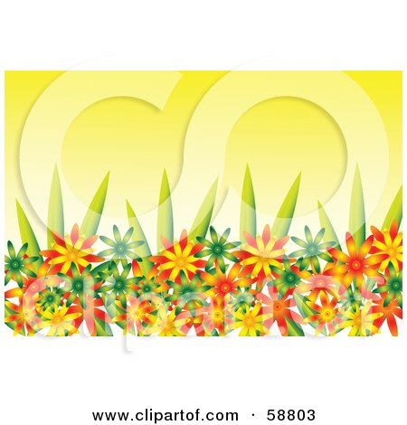 Picturedaisy Flower on Royalty Free  Rf  Flower Garden Clipart  Illustrations  Vector