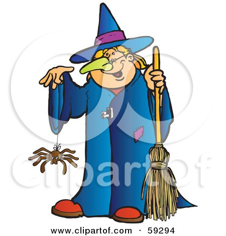 Royalty Free Rf Clipart Illustration Of A Halloween