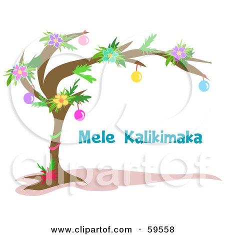 Royalty Free Rf Mele Kalikimaka Clipart Illustrations