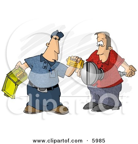First Aid Assistant Helping Screwed Man Clipart Picture by djart
