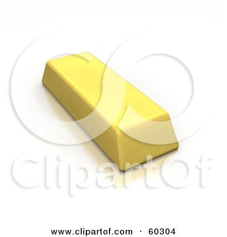 Single Gold 3d Bar Posters, Art Prints