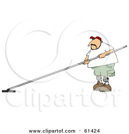 Royalty Free Rf Concrete Finisher Clipart Illustrations