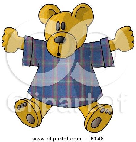 Teddy Bear Stuffed Animal in a T Shirt Posters, Art Prints