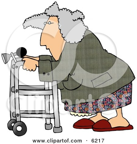 [عکس: 6217-Senior-Woman-Using-A-Walker-With-A-...icture.jpg]