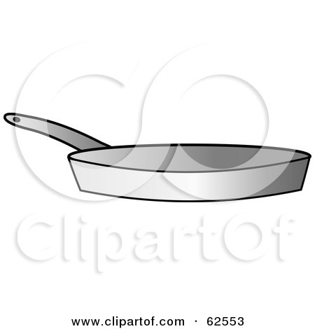 Silver Kitchen Frying Pan Posters, Art Prints