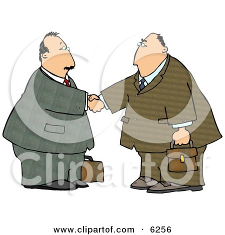 Businessmen Shaking Hands Posters, Art Prints