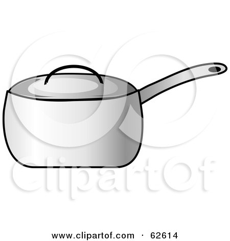 Silver Covered Kitchen Pot Posters, Art Prints