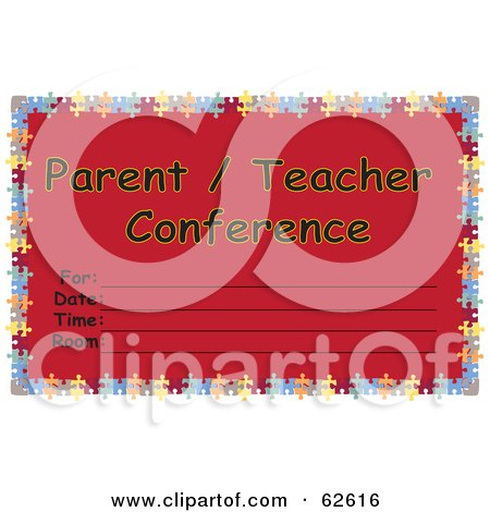 Royalty-Free (RF) Parent Teacher Conference Clipart, Illustrations ...