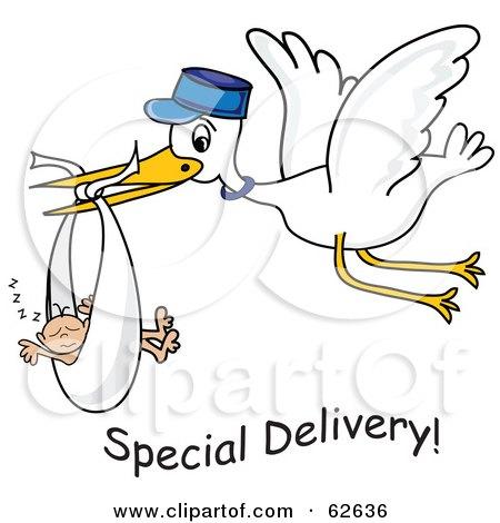 Royalty-Free (RF) Baby Stork Clipart, Illustrations, Vector ...